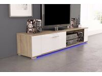 TV UNIT, STORAGE, LIVING ROOM, CABINET, STAND,LED LIGHTS! BLACK, WHITE, OAK! DELIVERY AVAILABLE!