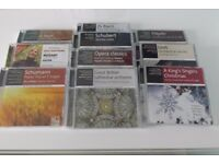 3 sets of classical music CD's.