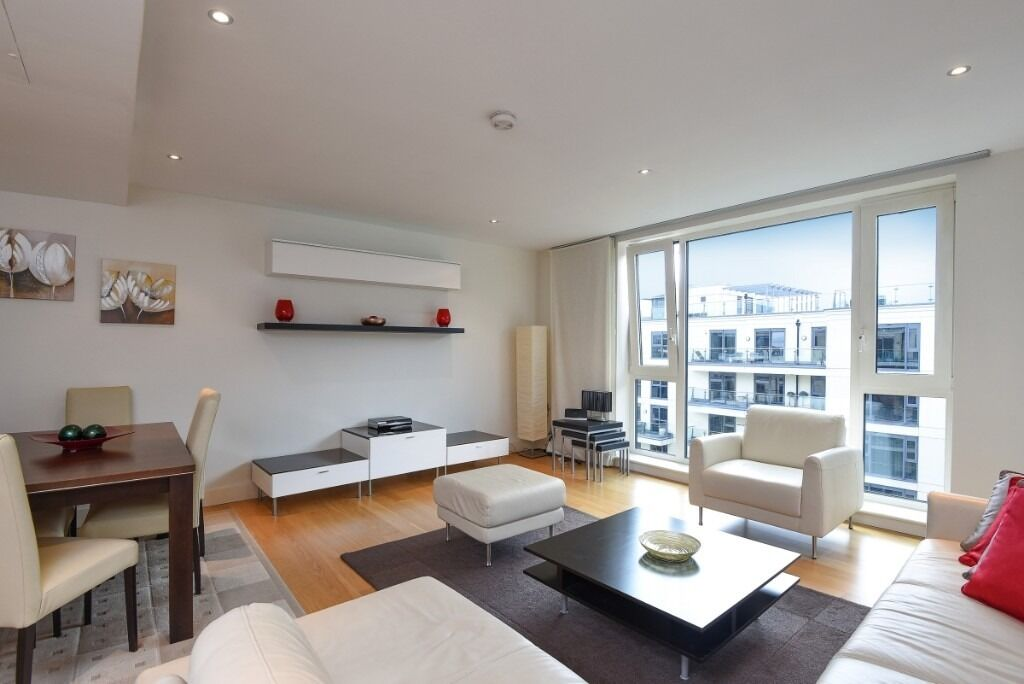 A spacious two bedroomapartment located in prestigious new build on Lensbury Avenue, SW6