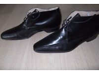 Men's Hudson Formal Shoes Black Leather UK Size 10 (Euro 44)