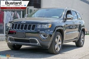 2016 Jeep Grand Cherokee LIMITED | LEATHER | NAV | ROOF | V6