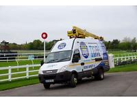 Cherry picker for hire 16 Meters Crawley West Sussex, Surrey, Kent, London, Brighton and more.