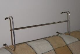 Good Quality Stainless Steel Metal Radiator Clothes Airer, 2 Bar, size 21 inches wide, Histon