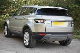 Land Rover Range Rover Evoque SD4 PURE TECH (gold) 2012-11-26