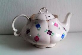 ART DECO Handpainted Decorative Tea Pot
