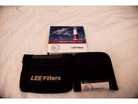 Lee Circular Polariser 105mm Rotating Glass Filter and Lee 105mm adaptor ring