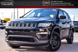 2018 Jeep Compass New Car Sport|4x4|Backup Cam|Bluetooth|R-Start