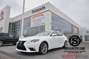 2014 Lexus IS 250 AWD LUXURY w/Navigation