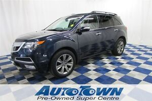 2012 Acura MDX Elite PKG/ 3RD ROW SEATING/ NAV/ ENT PKG