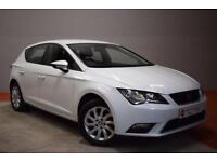 SEAT LEON 1.6 TDI SE DSG AUTO 5 Door Hatchback 105 BHP &poun (white) 2013