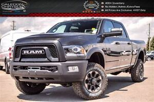 2017 Ram 2500 Power Wagon|4x4|Backup Cam|bluetooth|R-Start|Leath