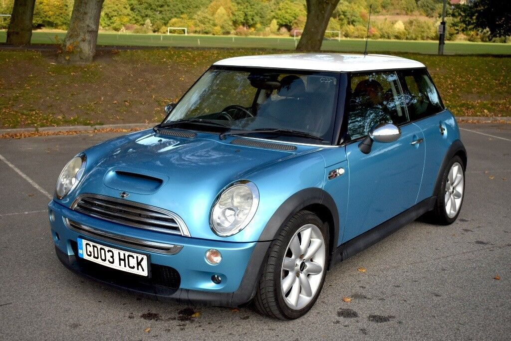 2003 03 Mini Cooper S R53 1 6 Supercharged Blue Immaculate Condition