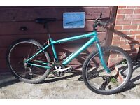 "Raleigh Max Mens/Boys Mountain Bike.16"" Frame.15 Speed. Serviced. (24.2)"