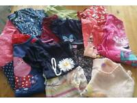 Bundle of girls clothes age 5 to 6 years