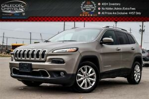 2017 Jeep Cherokee Limited|Navi|Backup Cam|Bluetooth|Leather|R-S