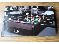 Table top football and air hockey for sale