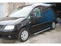 Black, 2010 Volkswagon Caddy Maxi Life 1.9 TDI Diesel, Automatic, 5 seats wheelchair/scooter area