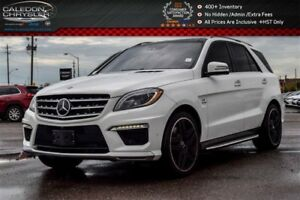 2015 Mercedes-Benz M-Class ML 63 AMG|AWD|Navi|Pano Sunroof|Blind