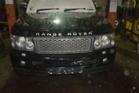 2007 RANGE ROVER SPORT 2.7 TDV6 AUTO BREAKING
