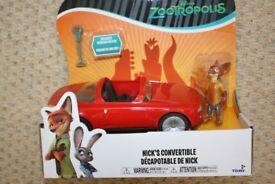 Zootropolis Nick's Convertible Vehicle