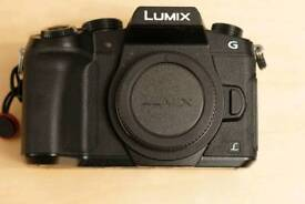 Panasonic G80 as new with warranty and extras 4k dslr camera m43