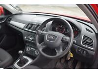 AUDI Q3 2.0 TDI SE 5 Door 138 BHP (red) 2014