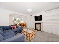Spacious 3 bed garden apartment in Barnsbury