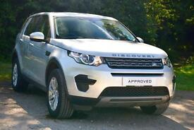 Land Rover Discovery Sport TD4 SE (silver) 2016-03-14