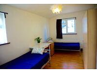 outstanding double - twin bedroom in Hackney, Homerton. Available now. 2 weeks deposit only.