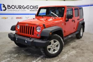 2016 Jeep WRANGLER UNLIMITED 4 DR SPORT *** SPORT, AUTOMATIQUE,