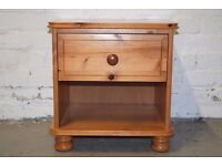 Pine Bedside Cabinet (DELIVERY AVAILABLE)