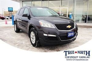 2015 Chevrolet Traverse LS AWD - PREVIOUS DAILY RENTAL/8 SEATS