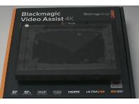 Blackmagic Video Assist 4K External recorder - Not Atomos