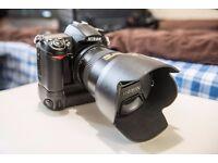 Nikon D7000 + Nikorr17-50 f2.8 + camera/laptop backpack