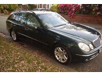 7 Seater E Class Mercedes 2003