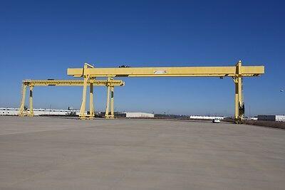 North American Industries 90t45t Gantry Cranes With 985 Runway 171 Span