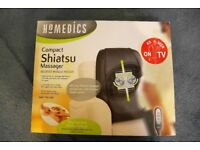 Homedics Compact Shiatsu Massager (SBM-100-2GB) in Original Box - Used in Great Condition