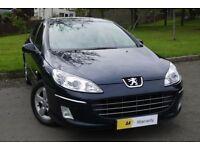 £0 DEPOSIT FINANCE***Peugeot 407 2.0 HDi FAP Sport 4dr ***1 OWNER** FULL SERV...