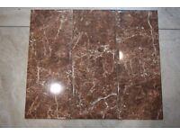 Clearance tiles! New unused slick tiles! £12 per sq meter, huge discount on job lot