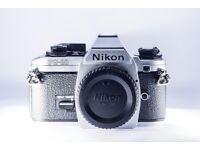 Nikon FG20 35mm SLR Film Camera Body Only - Near Mint