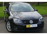 £0 DEPOSIT FINANCE***Volkswagen Golf 2.0 TDI DPF GT Sport DSG 5dr **FVWSH** FULL HEATED LEATHER*RARE