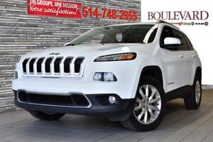 2015 Jeep CHEROKEE LIMITED 4X4 TOIT PANO CUIR CAMERA RECUL
