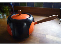 Fondue setwith stand and forks