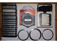Set of 12 Cokin Filters plus Mounts
