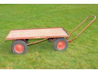 Heavy Duty Farm Garden Trolley / Barrow / Cart * FOR SALE AT £100 *