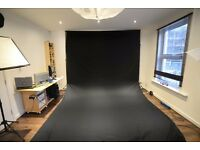 3 x 6M/ 10 x 20ft Photo Studio 100% Pure Muslin Collapsible Backdrop Background - Photography,Video