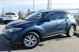2011 Nissan Murano AWD SL CVT 1 Owner Local Leather