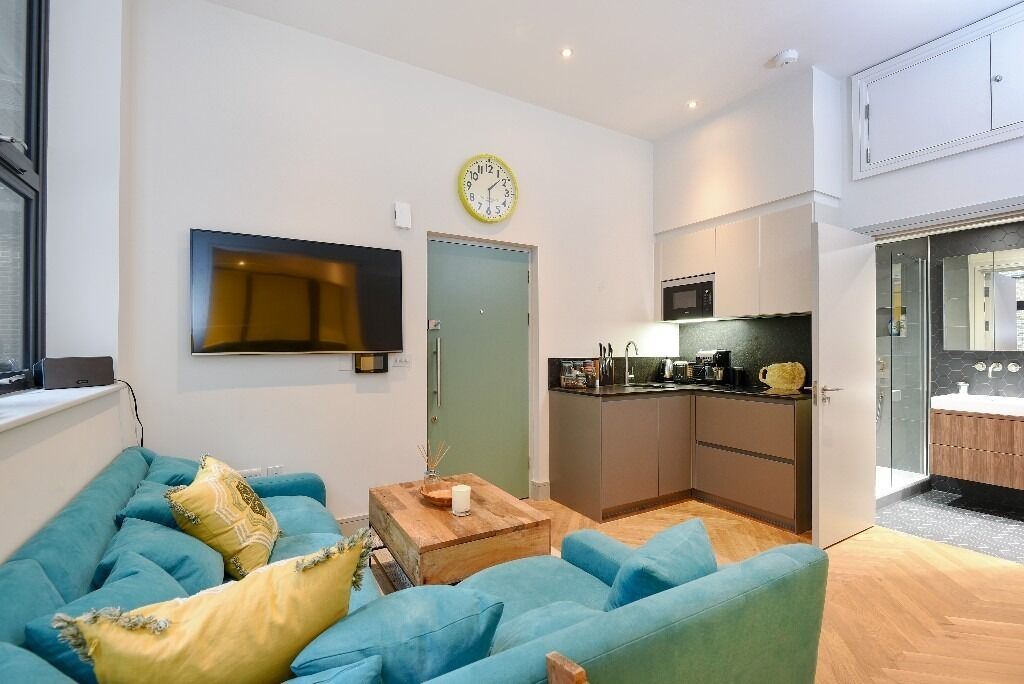A stunning one bedroom warehouse style apartment situated on Atalanta Street, SW6