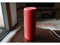UE BOOM 2 Wireless Bluetooth Waterproof Speaker Red