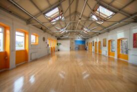 SKYLIGHT Yoga Studio for Rent 2775sqft